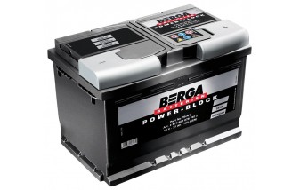 АККУМУЛЯТОР  BERGA Power Block  6CT-63 АЗ 610 EN